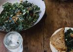 Raw Tuscan Kale Salad Recipe Recipe