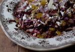 Tassajara Warm Red Cabbage Salad Recipe Recipe