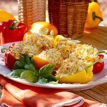 Carrot-and-Cabbage Stuffed Peppers Recipe