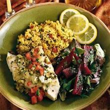 Mediterranean Swordfish Recipe