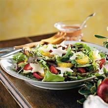 Cranberry-Strawberry-Jícama Salad Recipe