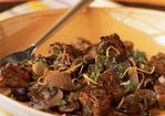 Tempeh and Wild Mushroom Fricassee Recipe