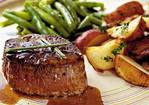 Steaks with Caramel-Brandy Sauce Recipe