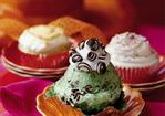 Mint-Chocolate Chip Ice-cream Cupcakes Recipe