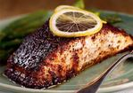 Barbecue Roasted Salmon Recipe