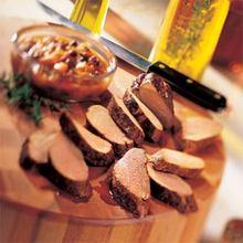 Pork Tenderloin with Rum Chutney Recipe