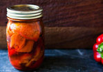 Marinated Roasted Red Bell Peppers Recipe