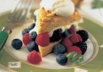 Cornmeal Pion Shortcakes with Berries and Lime Cream Recipe