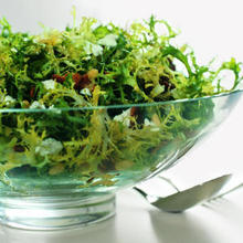 Frisée, Bacon, and Goat-Cheese Salad Recipe