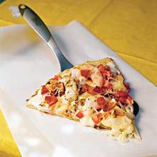 Shrimp Alfredo Pizza Recipe