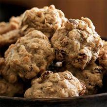 Oatmeal-Walnut Cookies Recipe