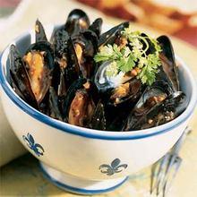 Yeo's Garlic Mussels Recipe