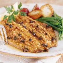 Trout with Browned Butter and Capers Recipe