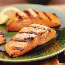 Taku Lodge Basted Grilled Salmon Recipe