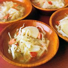 Smoked-Sausage, Cabbage, and Potato Soup Recipe