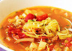 Sweet-and-Sour Cabbage Soup Recipe