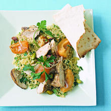 Couscous Salad with Chicken and Apricots Recipe