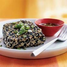 Sesame-Crusted Tuna with Wasabi-Ponzu Sauce Recipe