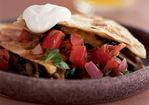 Portobello Quesadillas with Pico de Gallo Recipe