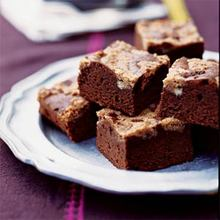 Mexican Chocolate Streusel Brownies Recipe