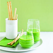 Sweet Pea and Mint Soup Recipe
