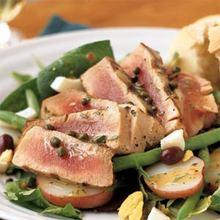 Grilled Tuna Niçoise Salad Recipe