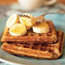 Banana-Cinnamon Waffles Recipe