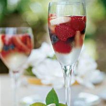 Sparkling Fruit Gelées Recipe