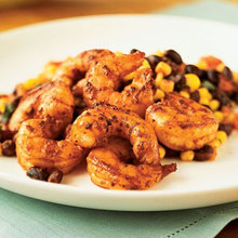 Black Bean, Corn, and Shrimp Salad Recipe