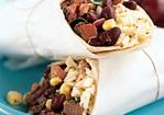 Southwestern Steak, Corn, and Black Bean Wraps Recipe