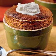 Spiced Soufflés With Lemon Whipped Cream Recipe