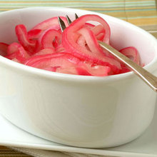 Sweet-and-Sour Red Onions Recipe