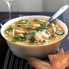 Spicy Shrimp and Rice Soup Recipe