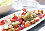 Roast Vegetables with Vinaigrette Recipe