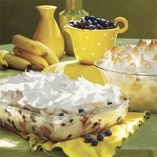 Blastin' Banana-Blueberry Pudding Recipe