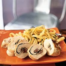 Chicken Roulade with Herbed Cheese and Prosciutto Recipe