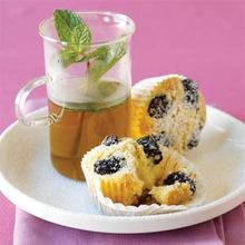 Blackberry-Almond Tea Cakes Recipe