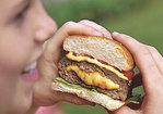 Pimiento Cheese-Stuffed Burgers Recipe