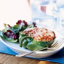 Jasmine Rice-Stuffed Peppers Recipe