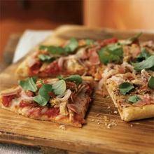 Roast Turkey and Prosciutto Pizza Recipe