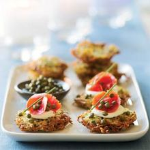 Herbed Yukon Gold Potato Latkes Recipe