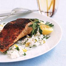 Blackened Salmon and Rice Recipe