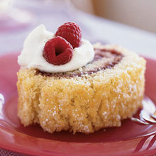 Almond Jelly Roll with Raspberry Filling Recipe
