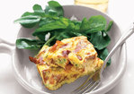 Crispy Prosciutto and Scallion Frittata Recipe
