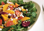 Roasted Beet Salad with Oranges and Queso Fresco (Ensalada de Betabel) Recipe