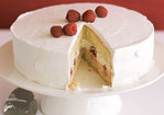 Tres Leches Cake with Raspberries Recipe