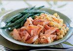 Quick-Cured Sake Salmon with Quinoa Recipe