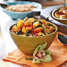 West Indian Vegetable Curry Recipe