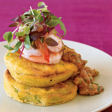 Fried Green Tomatoes With Shrimp Remoulade Recipe