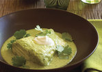 Halibut Baked in Fresh Green Salsa Recipe